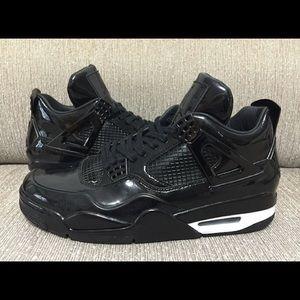 Jordan Black patent leather